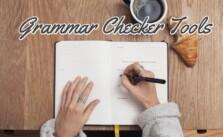 Free Grammar Checker Tools, Check Spell & Sentence Correction