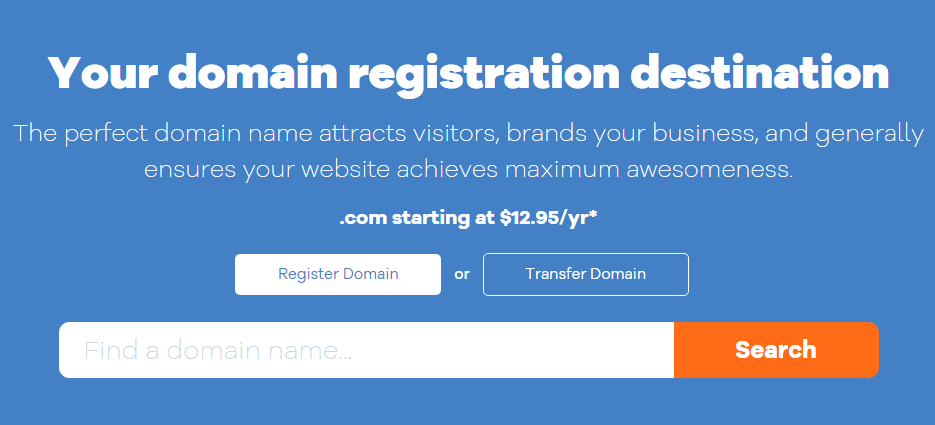 Pick a Great Domain Name for start a blog