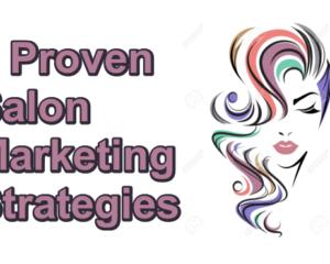 Salon Marketing Strategies