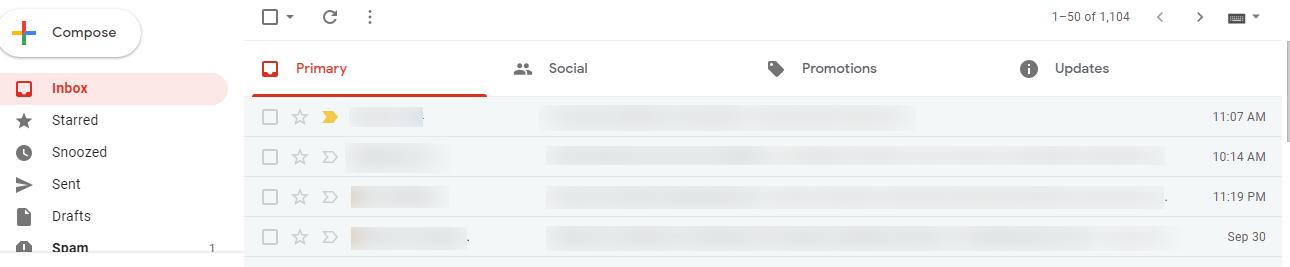 Gmail Update 2020
