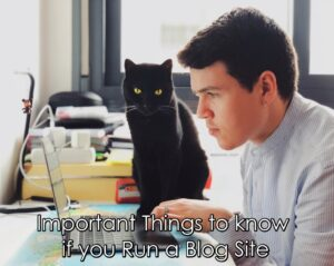 Important Things to know if you Run a Blog Site