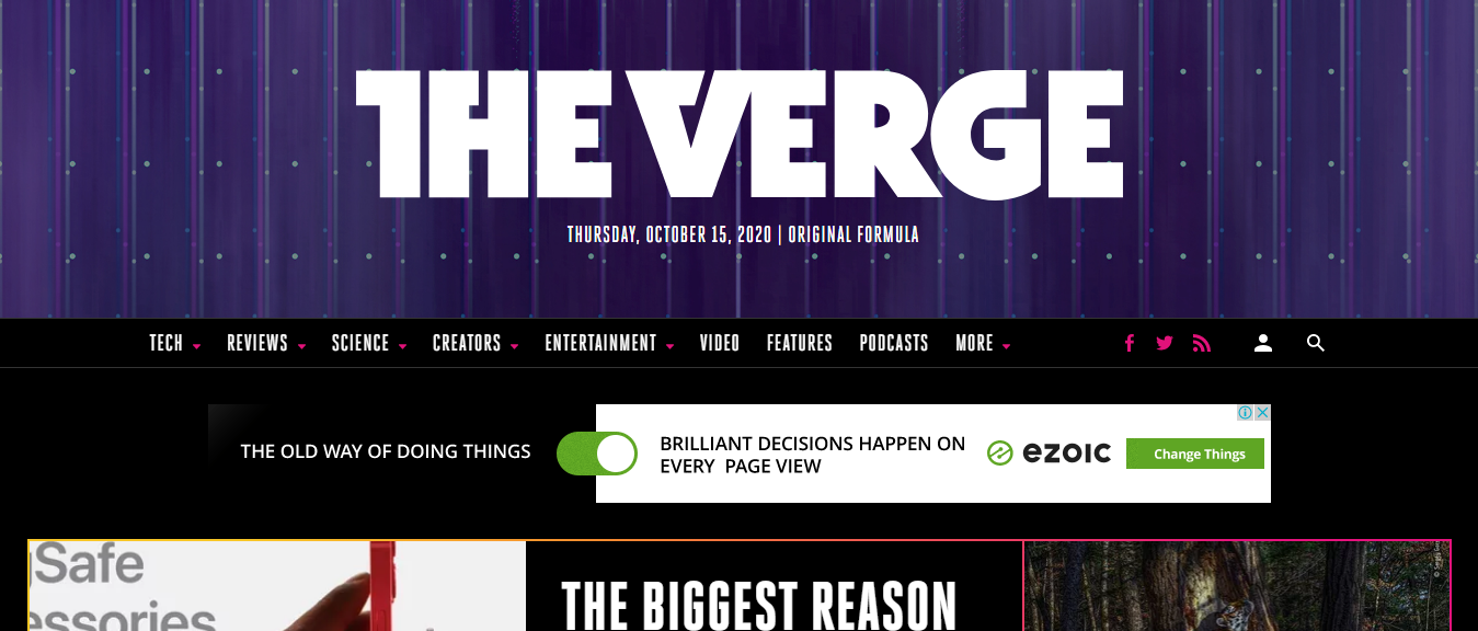 The-Verge-top technology blog