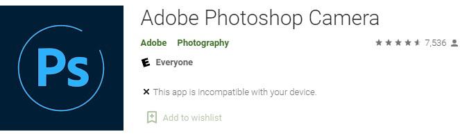 Adobe Photoshop app