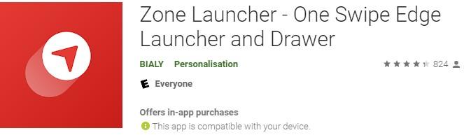 Zone Launcher